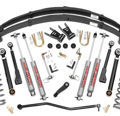 Jeep XJ 6.5u2033 X Series Suspension Lift Kit